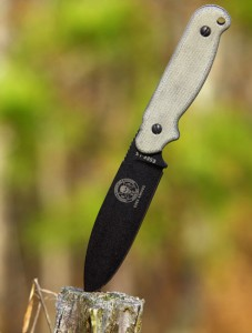 ESEE Laser Strike Knife Outdoors Shot