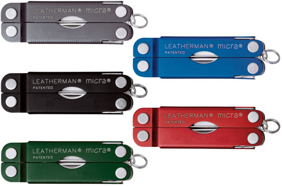 Leatherman Micra Color Options