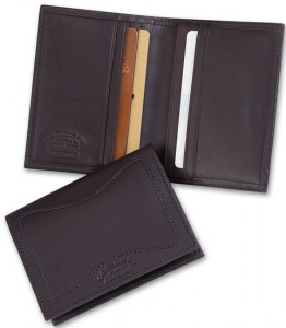 Filson Leather Credit Card Wallet